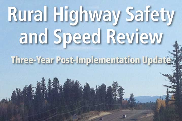 The November 6, 2018 Rural Highway Safety and Speed Review: Our Analysis